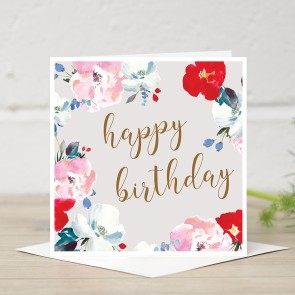 Stephanie Dyment- Happy Birthday Card