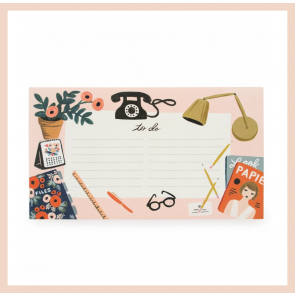Rifle Paper Co - 'To Do' Desktop Notepad