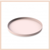 Cooee Design - Dusty Pink Circle Tray