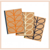 Orla Kiely - B5 Kraft Notebooks (set of 3)
