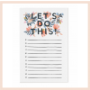 Rifle Paper Co - 'Let's Do This' Notepad