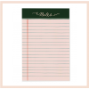 Rifle Paper Co - Rose Lined Notepad