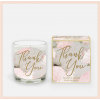 'Thank You'  Candle