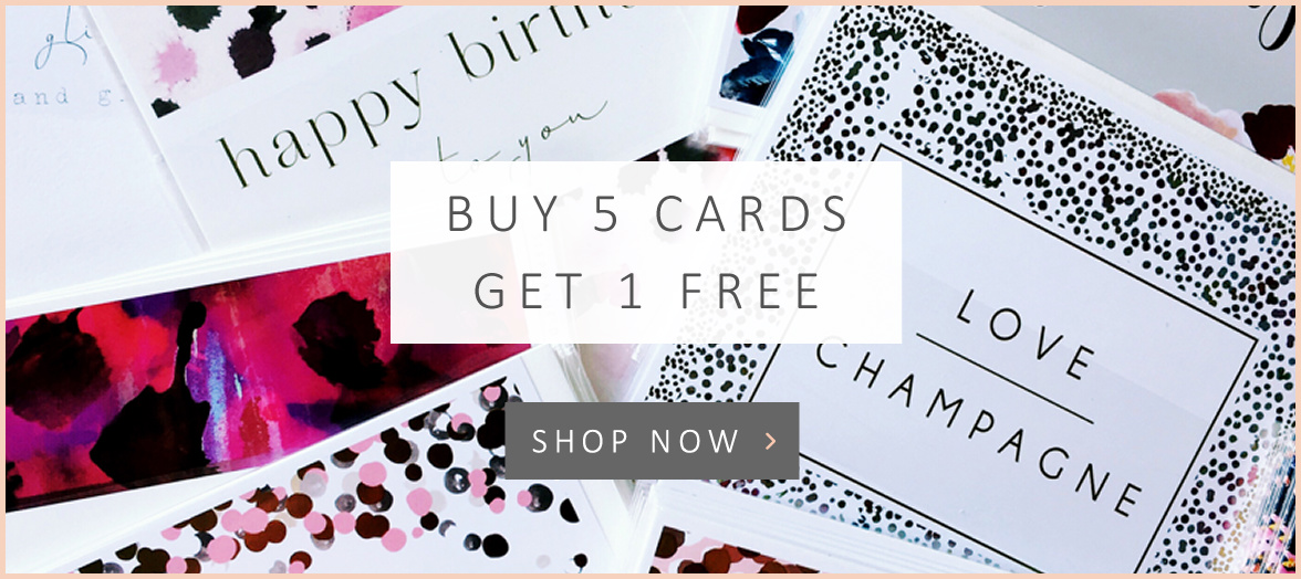 Cards, 5 for 4